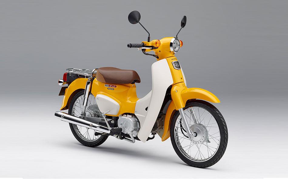 2019 Honda Super Cub 50 Scooter - Tokyo Motor Show 2017