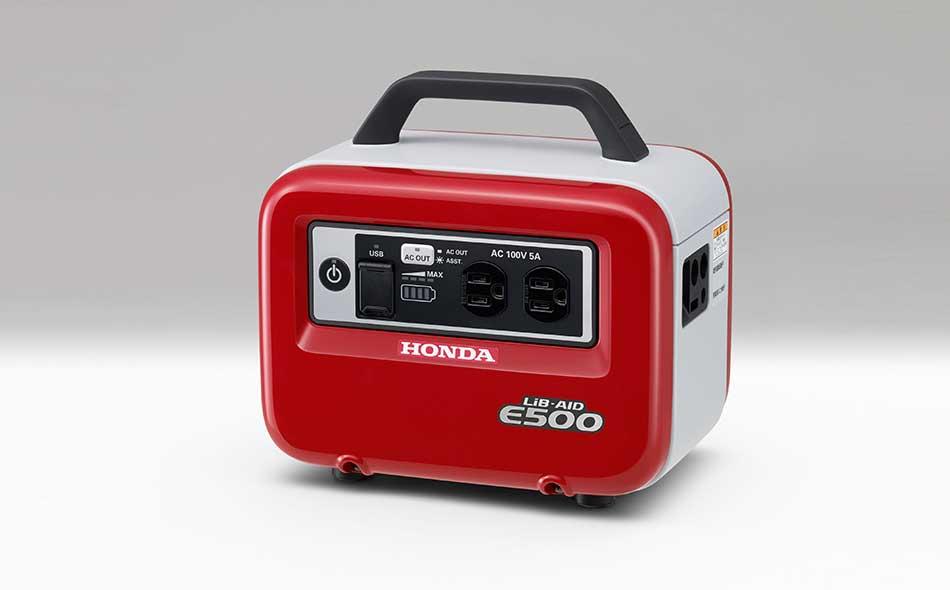 Honda LiB AID E500 Portable Battery Inverter Power Source Generator - Tokyo Motor Show 2017