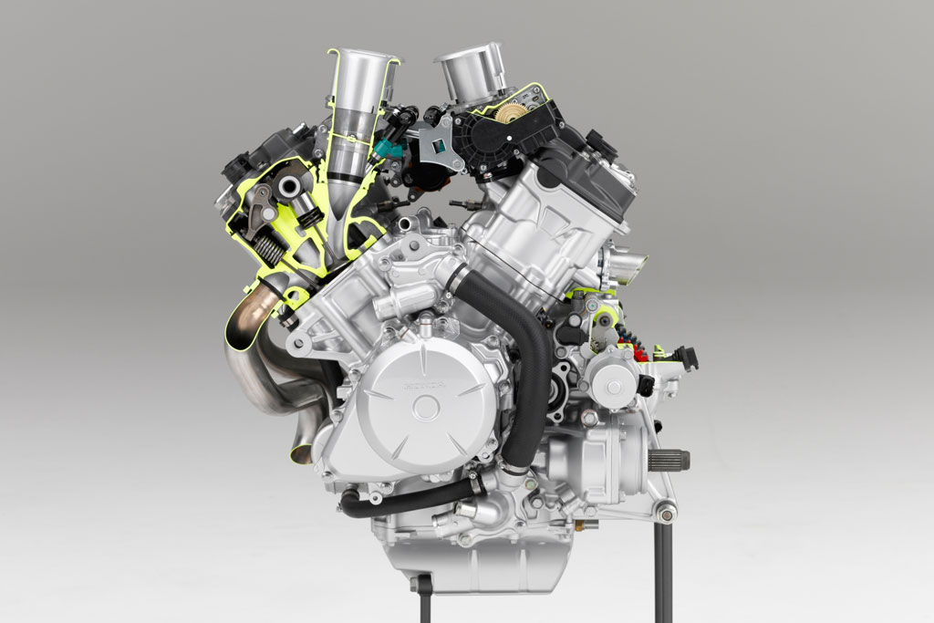 2016 Honda VFR1200X V4 Engine Horsepower / VFR1200