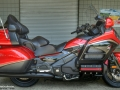 2015 Honda Gold Wing GL1800 40th Anniversary - GL18HPM - Touring Motorcycle / Bike - Candy Red / Black GoldWing