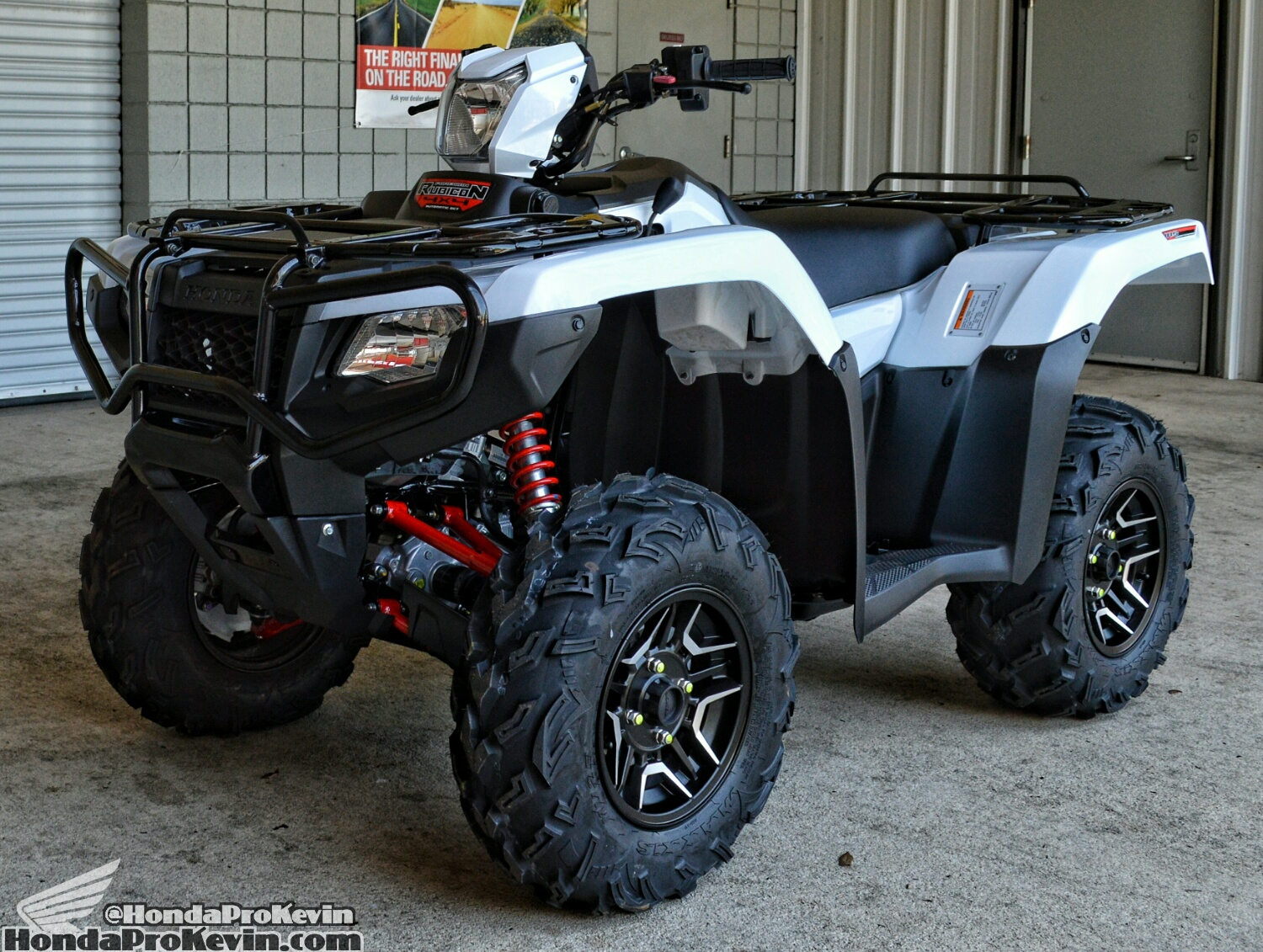 2016 Honda Rubicon 500 Deluxe ATV Review / Specs - TRX500 Horsepower & Torque Performance Numbers