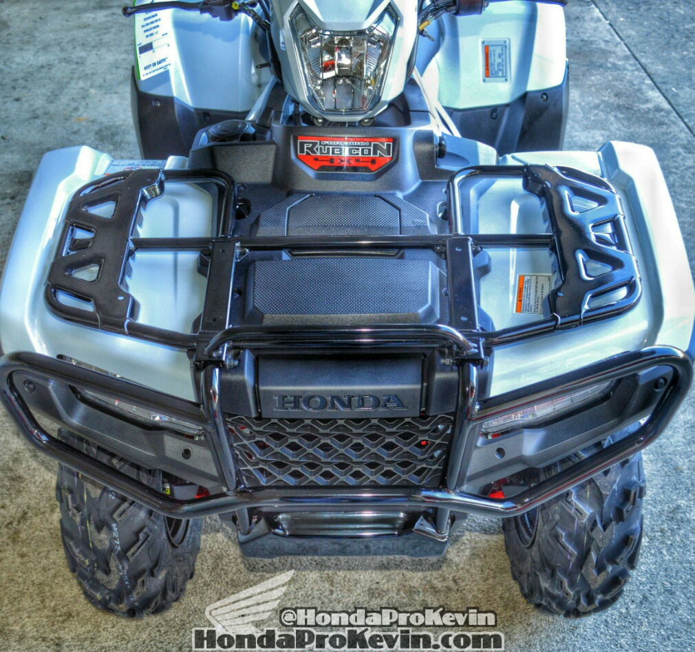 2016 Honda Rubicon Deluxe DCT / EPS ATV Review of Specs - TRX500FA7