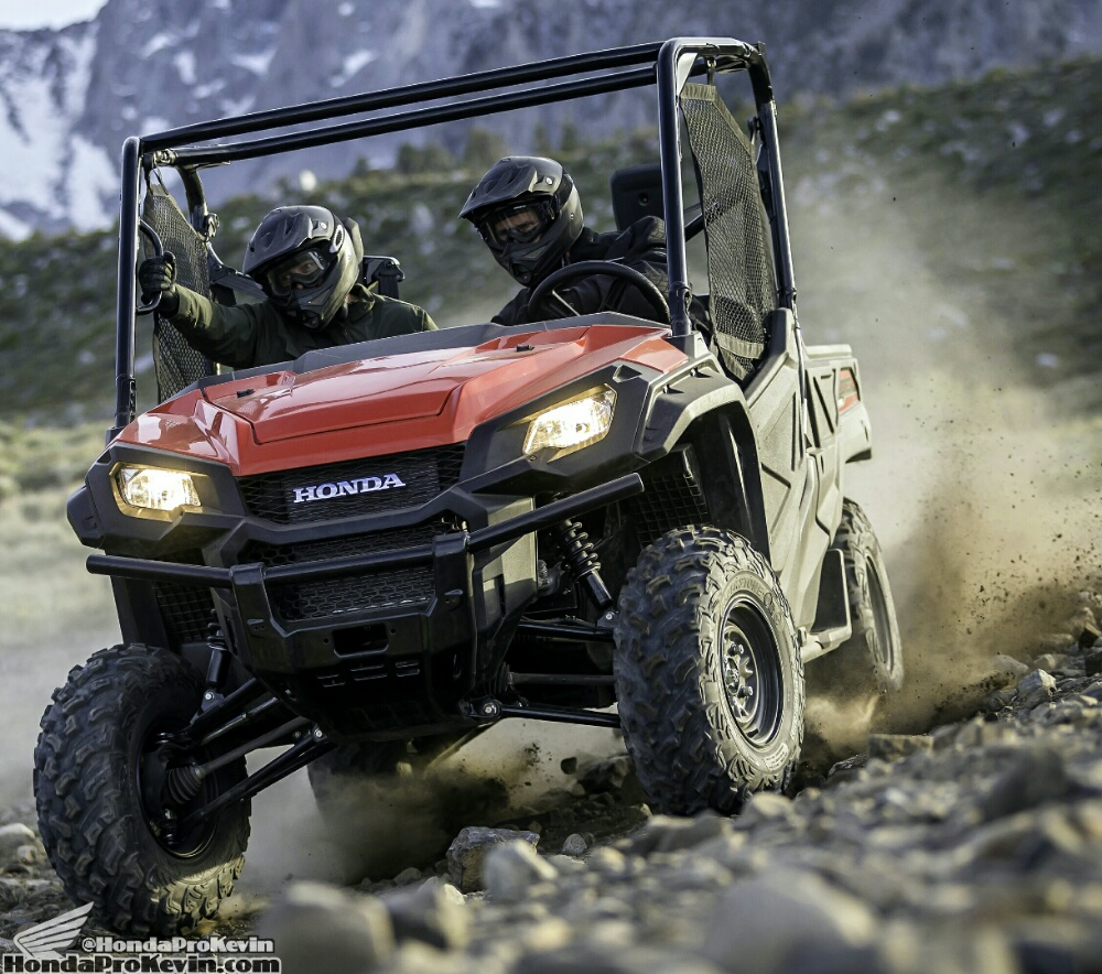2018 Honda Pioneer 1000 Review / Specs - Price / Side by Side ATV / UTV / SxS / 4x4 Utility Vehicle