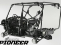 Honda Pioneer 1000 Frame & Suspension Review / Specs - Price / Side by Side ATV / UTV / SxS / 4x4 Utility Vehicle