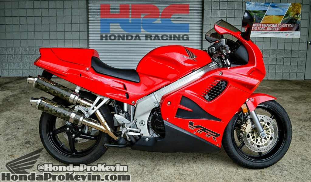 2015 Honda V4 Sport Bike RC213V S MotoGP Bike / Motorcycle - 1997 VFR750F Interceptor - VFR750F - VFR800