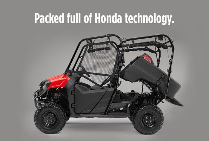 2016 Honda Pioneer 700-4 Review - Specs - Side by Side / UTV / SxS / ATV - SXS700 M4