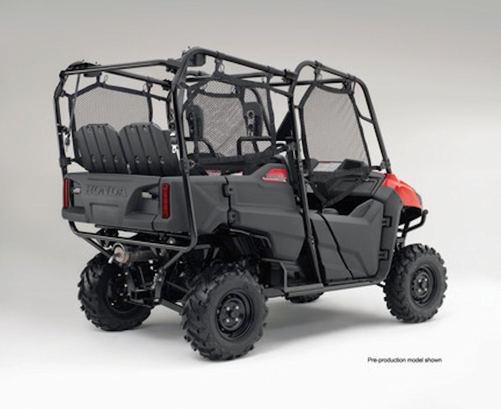 2018 Honda Pioneer 700-4 Review - Specs - Side by Side / UTV / SxS / ATV - SXS700 M4