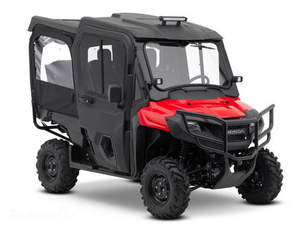2018 Honda Pioneer 700-4 Accessories Review - Specs - Side by Side / UTV / SxS / ATV - SXS700 M4