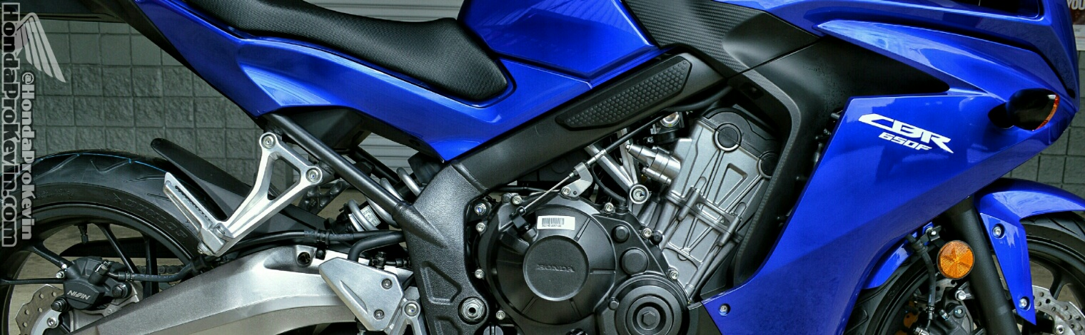2015 Honda CBR650F Sport Bike - Candy Blue / Motorcycle Reviews - Specs - Pictures - Videos and more!