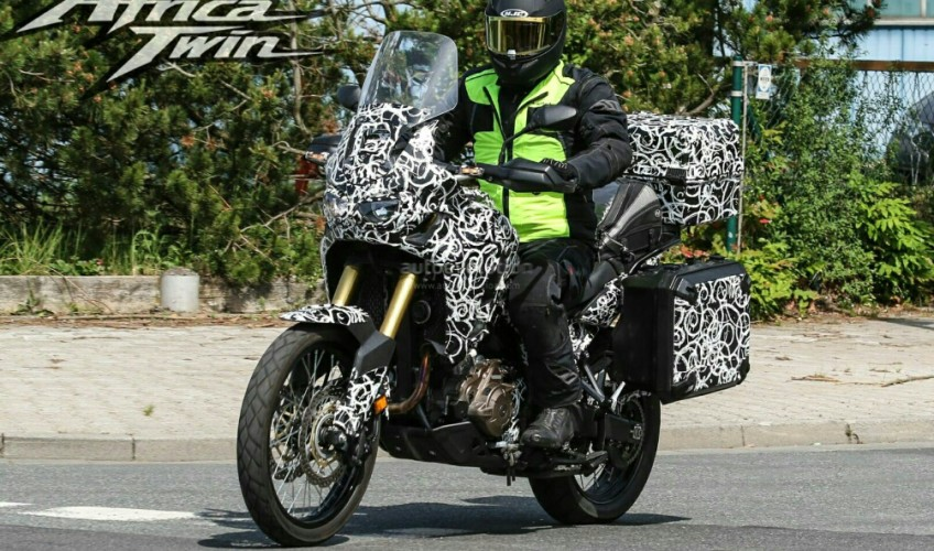 2016 Honda Africa Twin CRF1000L Spy Pictures Photos - Review of Specs - Release Date - Videos