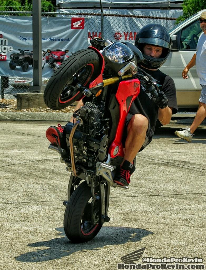 Custom Honda Grom MSX 125 Stunt - Wheelie - Bike / Motorcycle