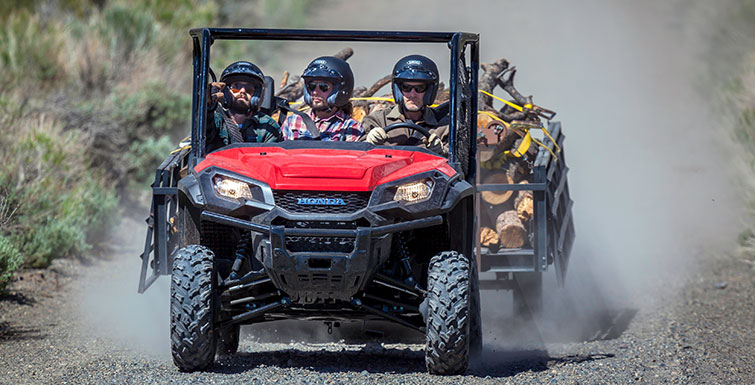 2017 Honda Pioneer 1000 Review / Specs - 1000cc Side by Side ATV / UTV / Utility Vehicle SxS
