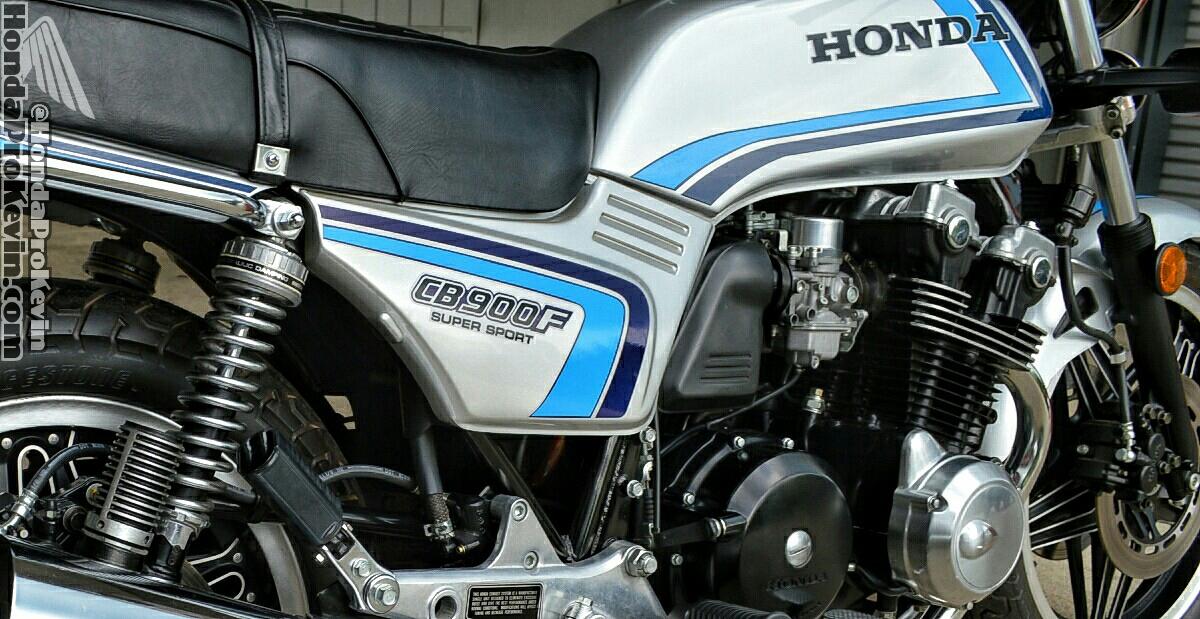 Vintage Classic Motorcycle 1982 Honda Cb900f Super
