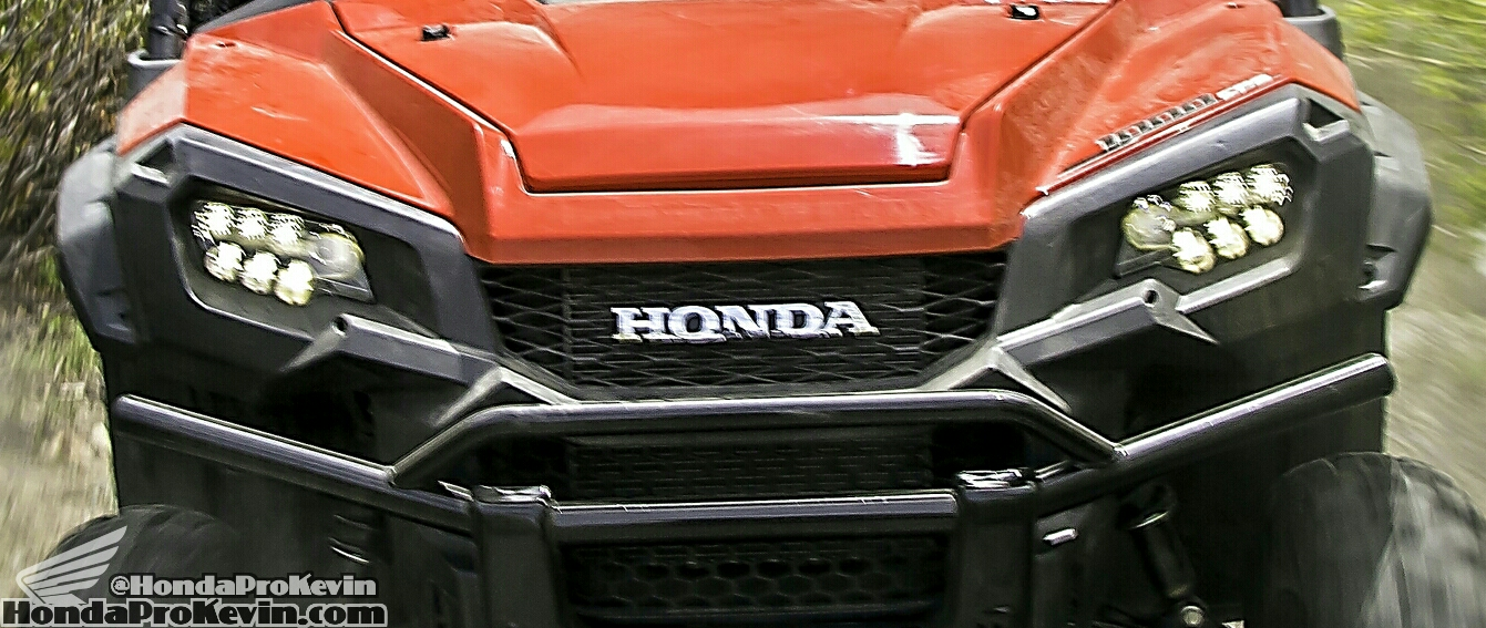 2016 Honda Pioneer 1000 LED Headlights - Front Bumper - SXS / UTV / SIDE BY SIDE / ATV
