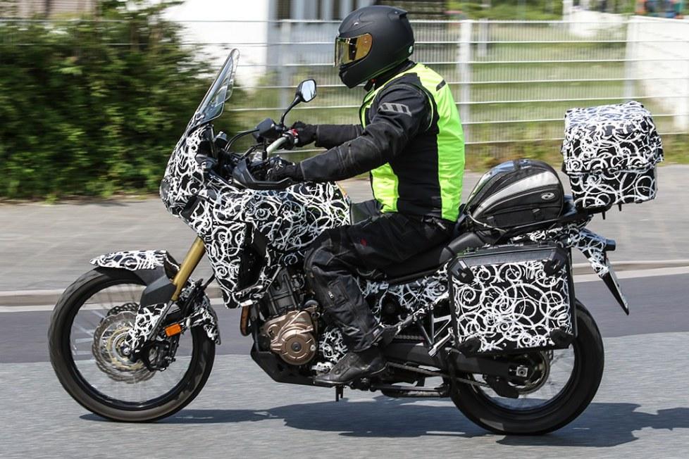 2016 Honda Africa Twin CRF1000L Spy Photos - Pictures - Specs - Adventure Motorcycle - Dirt Bike - Enduro - Dual Sport