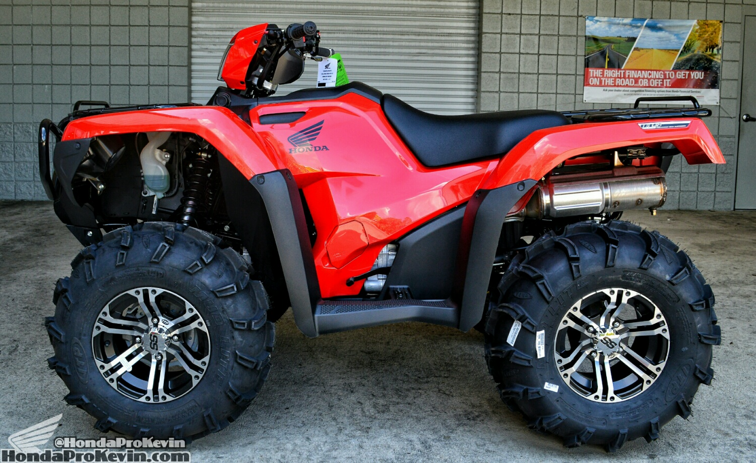 2016 Honda Foreman 500 Rubicon 500 ITP Mud Lite Tires - ITP SS Wheels