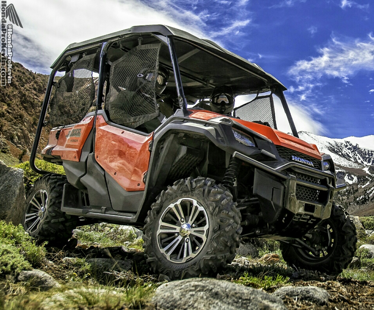 2016 Honda Pioneer 1000-5 Review - Specs - 5 Seater SxS / UTV / Side by Side ATV 1000 cc