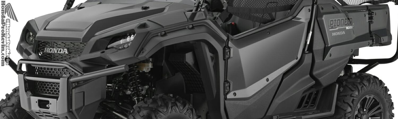 2016 Honda Pioneer 1000-5 Deluxe Gray SXS - UTV - Side by Side ATV SXS1000M5