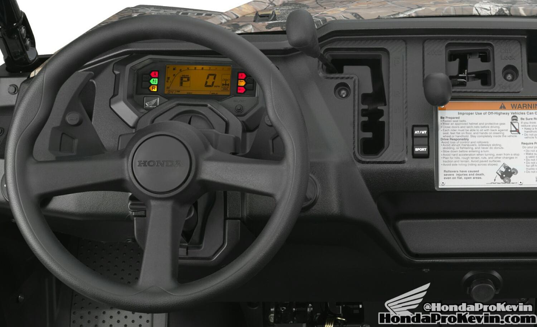 2016 Honda Pioneer 1000 / 1000-5 Interior - Dashboard - Speedometer - Gauges