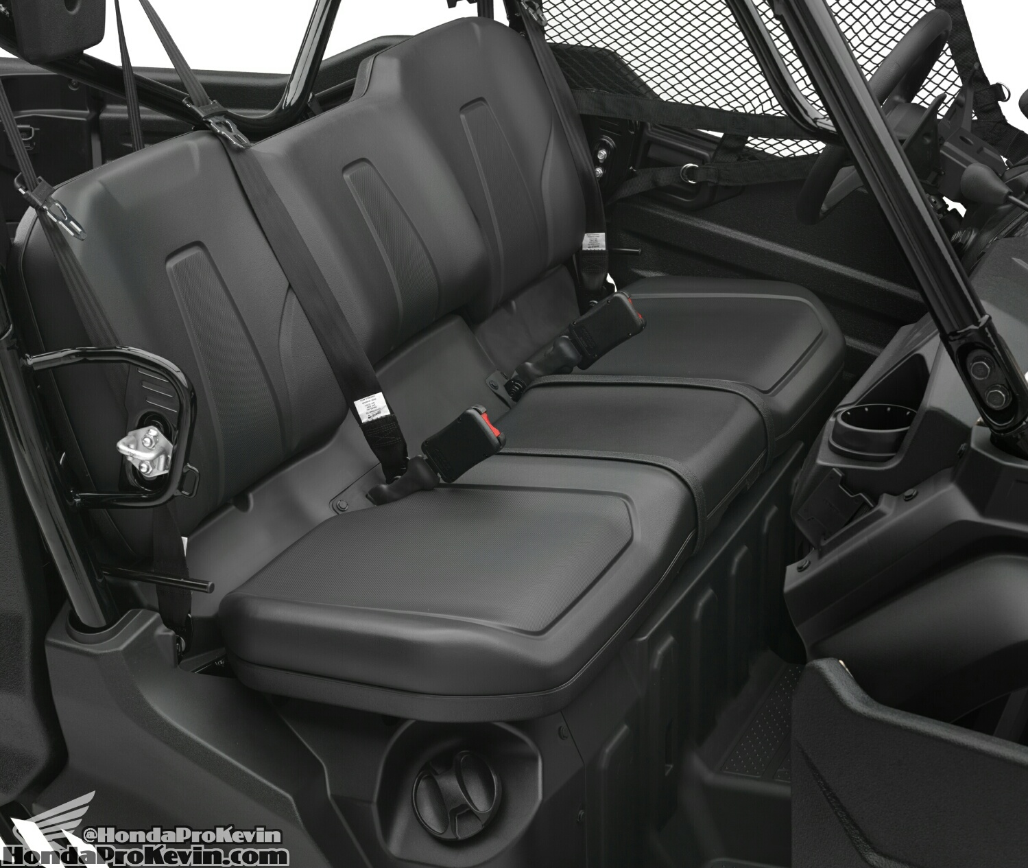 2018 Honda Pioneer 1000 & 1000-5 Seats - Interior - Frame, Suspension, Engine Pictures - Photo Gallery - SxS / UTV / Side by Side ATV - SXS1000 - SXS1000M3 - SXS1000M5