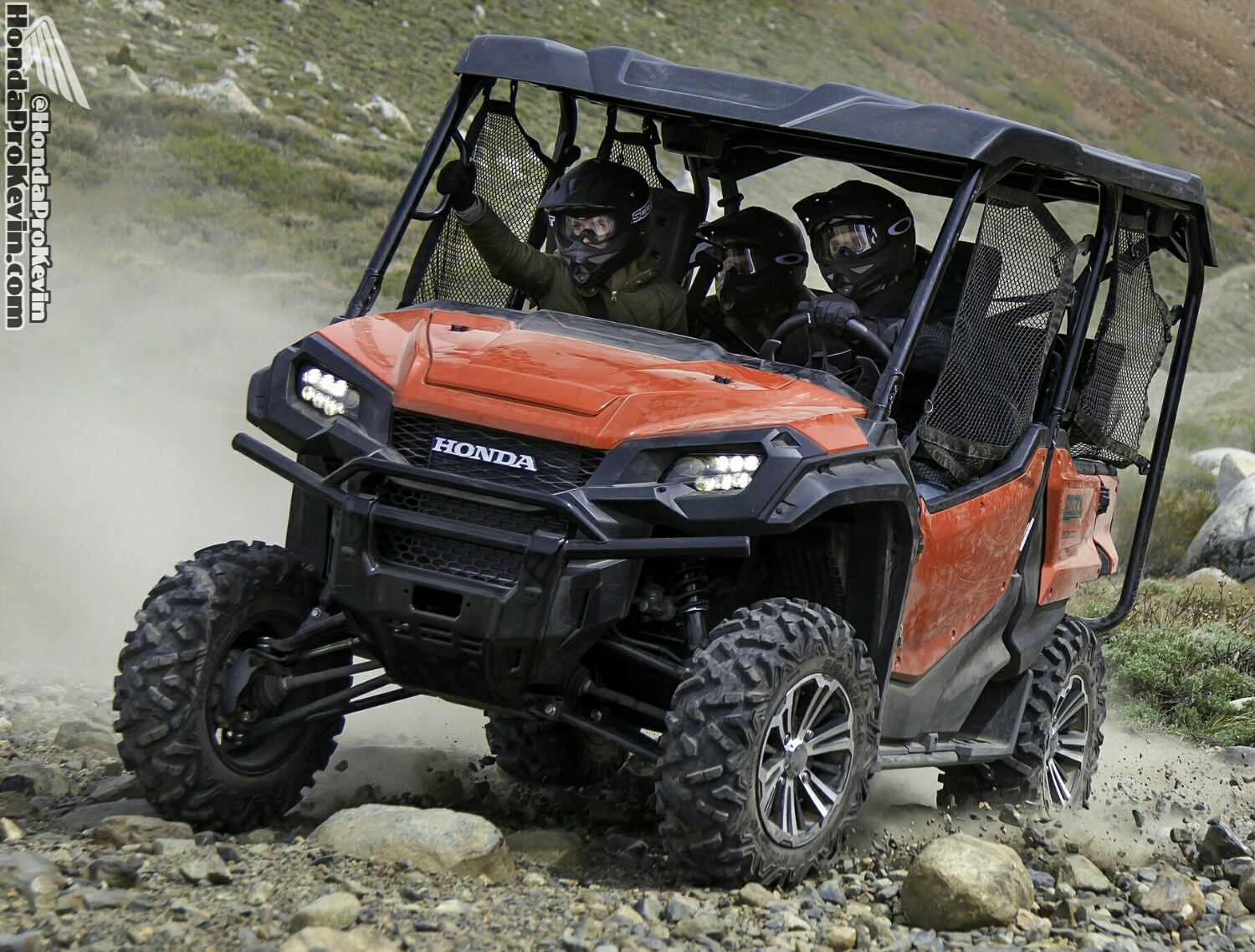 2016 Honda Pioneer 1000 & 1000-5 Frame, Engine, Suspension Pictures - SxS / UTV / Side by Side ATV - SXS1000 - SXS1000M3 - SXS1000M5
