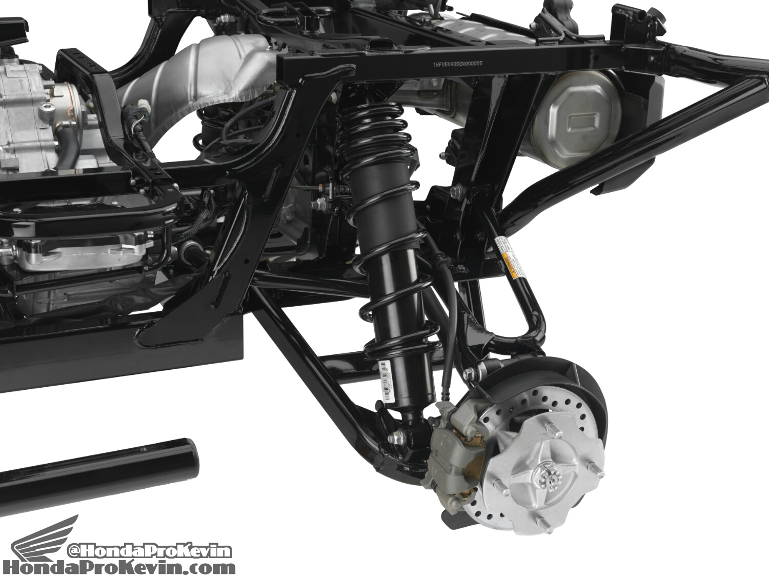 Detailed 2016 Honda Pioneer 1000 & 1000-5 Suspension / Frame Pictures - Photo Gallery - SxS / UTV / Side by Side ATV - SXS1000 - SXS1000M3 - SXS1000M5