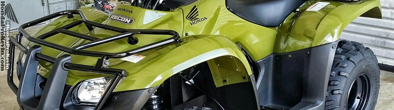 2016 Honda Recon ES 250 ATV - TRX250TE / TRX250TM