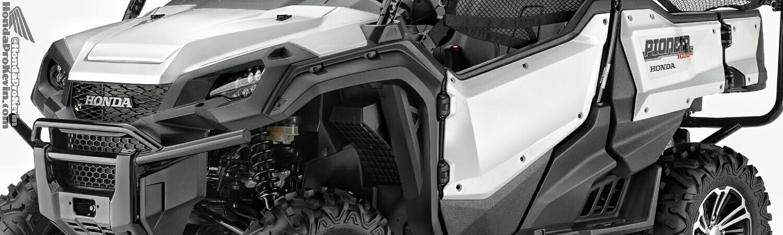 2016 Honda Pioneer 1000-5 Deluxe White - SxS / UTV / Side by Side ATV - SXS1000M5