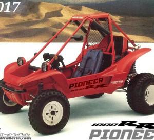 2017 Honda Pioneer 1000RR Sport SxS / UTV / Side by Side ATV - 1990 Honda Pilot FL400R