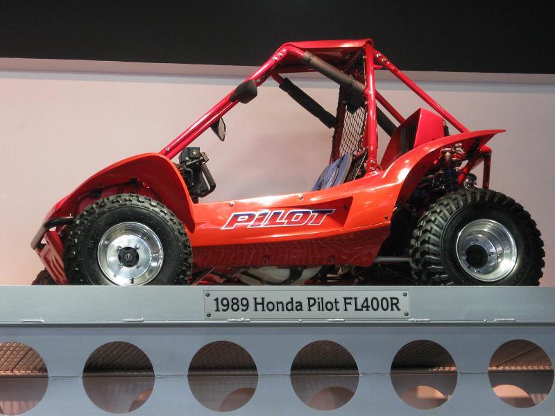 2017 Honda Sport 1000 SxS / UTV / Side by Side ATV - 1989 / 1990 Honda Pilot FL400R