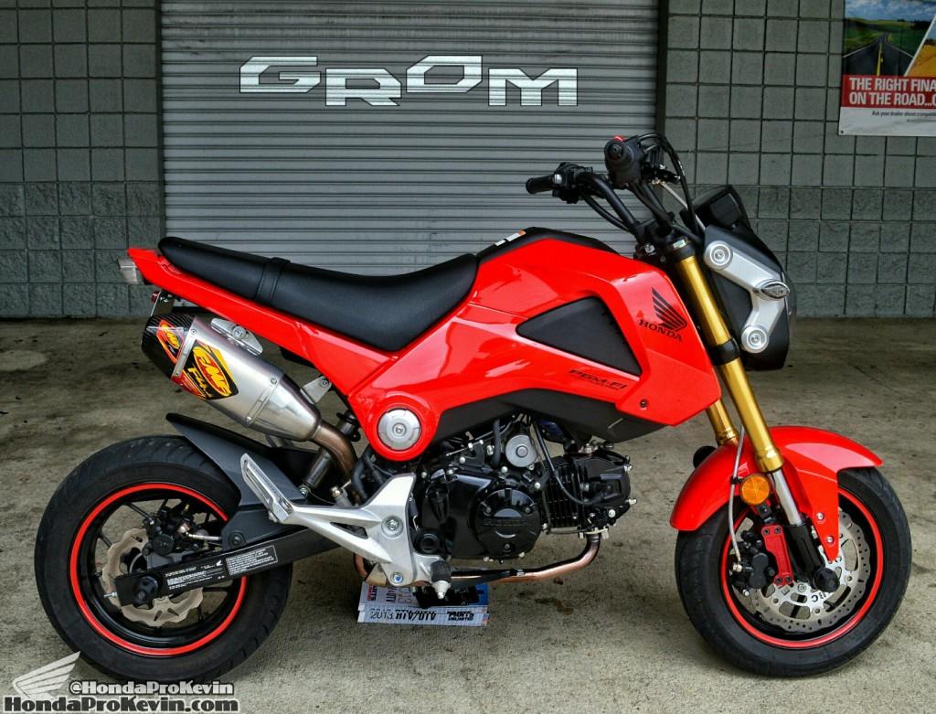 Custom Honda Grom MSX 125 Parts - Exhaust - LED Headlight - Fender Eliminator - Integrated Tailight