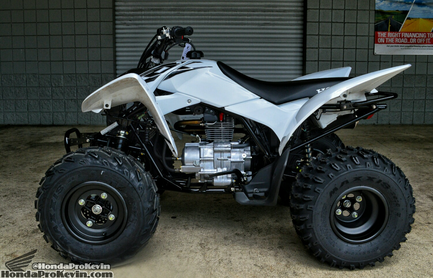2016 Honda TRX250X Sport ATV / Quad - White - TRX250EX - 250 cc Race Four Wheeler