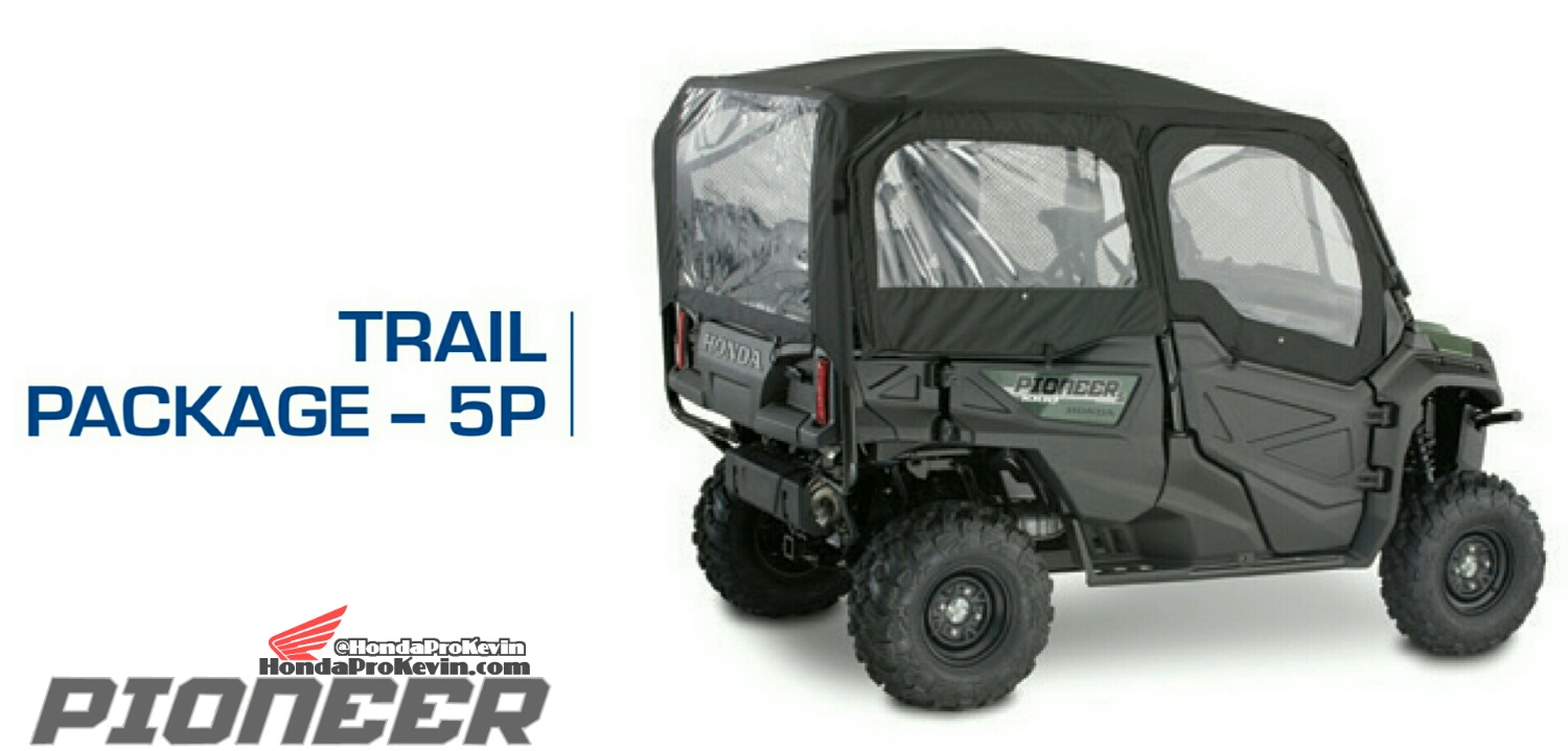 Honda Pioneer 1000-5 Trail Package - Accessories - Parts - SxS / UTV / Side by Side ATV