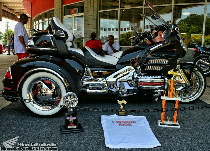 custom honda gold wing trike  award  show winning gl1800