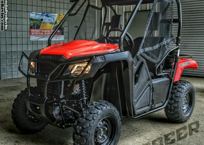 2021 Honda Pioneer 500 ATV / Review of Specs - Side by Side / UTV / SxS