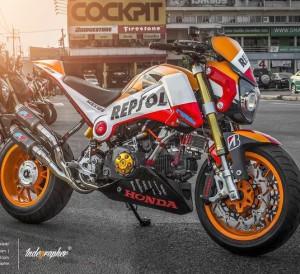 Custom Honda GROM / MSX125 Pictures | Repsol Edition