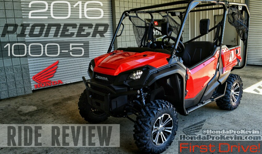 2016 Pioneer 1000 - 5 Ride Review | Pioneer vs Polaris XP Comparison / Top Speed / Horsepower / Side by Side ATV - UTV - SxS - 4x4 Utility Vehicle