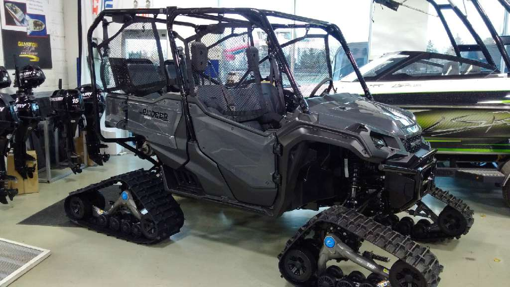 2016 Honda Pioneer 1000 5 Tracks Tires Custom Side By
