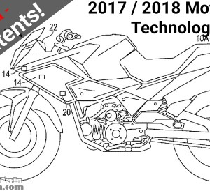 New 2017 / 2018 Honda Motorcycle & CBR Sport Bike Technology Patents