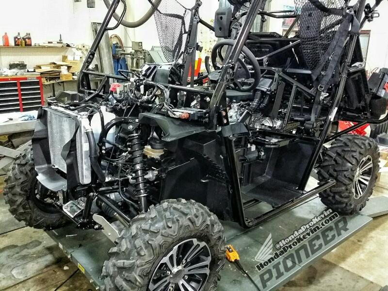 2018 Honda Pioneer 1000 Accessories - Side by Side ATV / UTV / SxS / Utility Vehicle 4x4