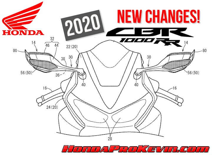 NEW 2020 Honda CBR1000RR Changes Coming… Are they going to be well-received though?