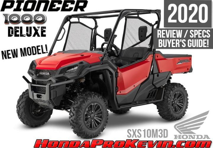 2020 Honda Pioneer 1000 Deluxe Review / Specs + NEW Changes Explained! | Price, Colors, HP, Length, Width, Tires, Wheels, LED lights + More!