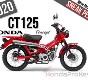 2020 Honda CT125 Concept Motorcycle / Scooter Release Review | Tokyo Motor Show 2019