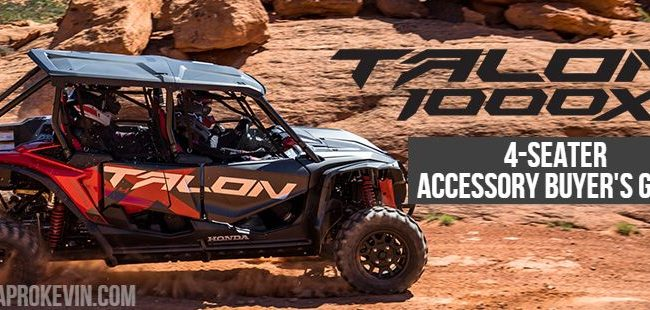 2020 Honda Talon 1000 X 4 Accessories | Discount Prices / Buyer's Guide - TALON 1000X-4 & Live Valve Sport SxS / UTV / Side by Side / ATV
