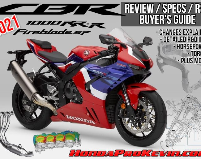 2021 Honda CBR1000RR-R SP Fireblade Review / Specs + R&D with NEW Changes Explained | 2021 CBR1000RR-R Horsepower / Torque Performance Info + More...