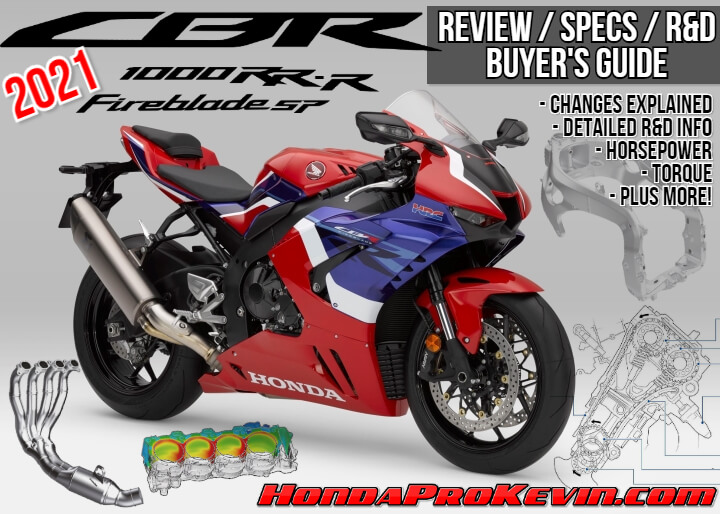 2021 Honda CBR1000RR-R SP Fireblade Review / Specs + R&D with NEW Changes Explained   2021 CBR1000RR-R Horsepower / Torque Performance Info + More...