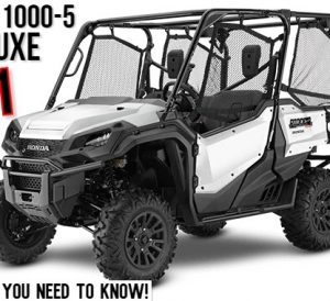 2021 Honda Pioneer 1000-5 Deluxe Review / Specs | Buyer's Guide: Price, Colors, SxS / UTV / Side by Side Comparison + More!
