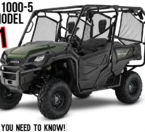 2021 Honda Pioneer 1000-5 Review / Specs: Price, Colors, Changes + More! | Pioneer 1000 5-seater Side by Side / SxS / UTV