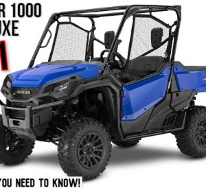 2021 Honda Pioneer 1000 Deluxe Review / Specs | Buyer's Guide: Price, Colors, SxS / UTV / Side by Side Comparison + More!