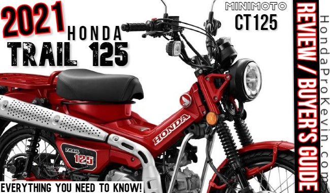 2021 Honda Trail 125 / CT125 Review & Specs | USA Buyer's Guide: Colors, Price, Release Date + more...